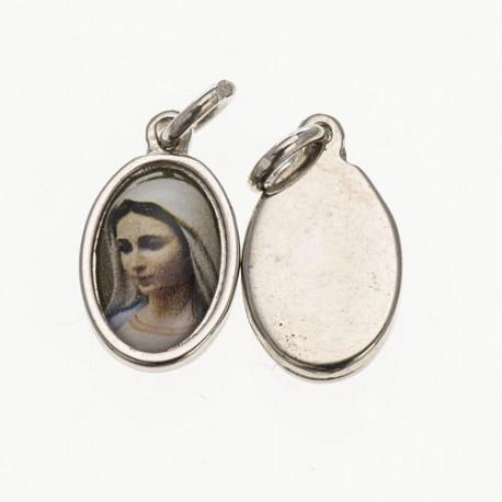 Médailles ND Medjugorje, miséricorde divine et Vierge Marie
