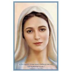 Carte Vierge de Mejugorje