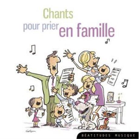 CD chants pour prier en famille