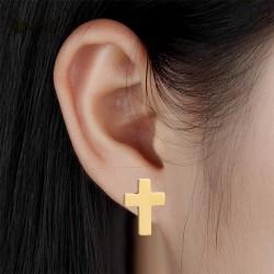 Boucles d'oreilles Croix de Jésus