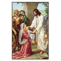 Carte prière pour les malades