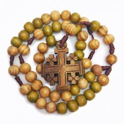 Chapelet avec la Croix de Jérusalem