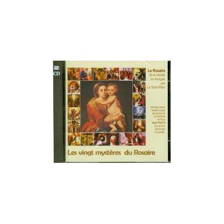 CD les 20 mystère du Rosaire avec Jean-Paul II