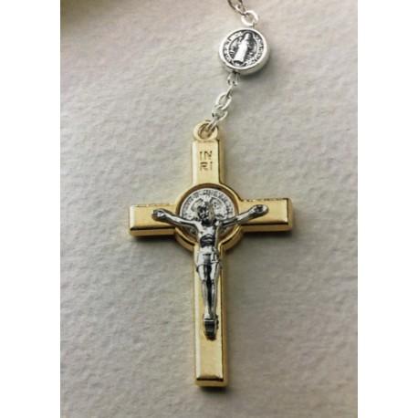 Chapelet métal de saint Benoit