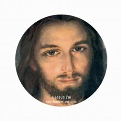 Autocollant du Christ Miséricordieux