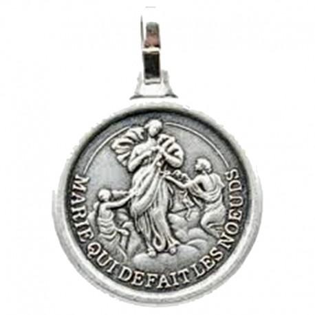 Médaille de Notre Dame qui défait les noeuds