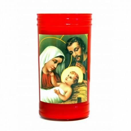 Bougie Led - Jésus et Marie