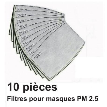 Filtres pour masque de protection