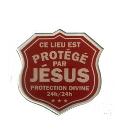 Plaque Divine Protection