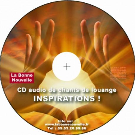 CD de louange et adoration: INSPIRATIONS
