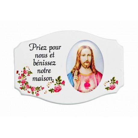 Magnet Jésus maison