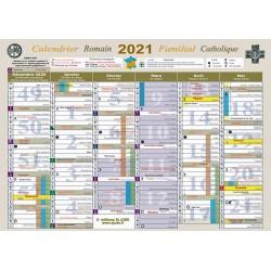 Calendrier Catholique et Familial 2021