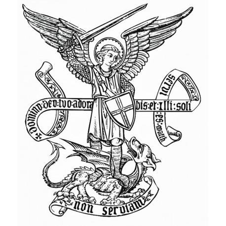 Autocollant Saint Michel Archange