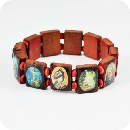 """Bracelet """"Vierge Marie et Jésus"""""""