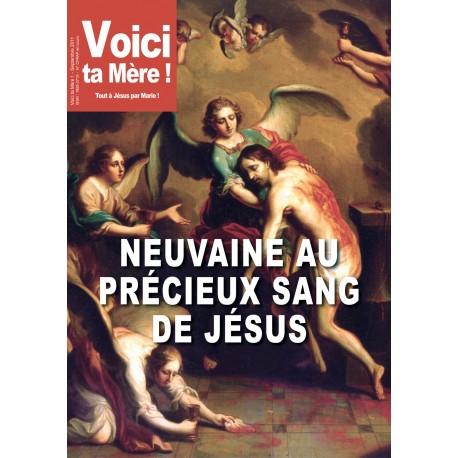 NEUVAINE AU PRECIEUX SANG DE JESUS