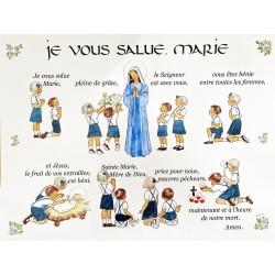 carte 'Je vous salue Marie'