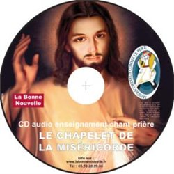 "CD audio ""Le chapelet de la Miséricorde"""