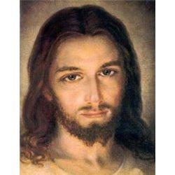 Tapisserie du visage du Christ Miséricordieux