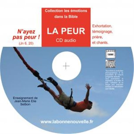 CD audio : LA PEUR