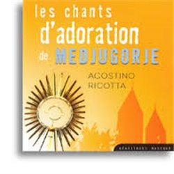 CD Les chants d'adoration de Medjugorje