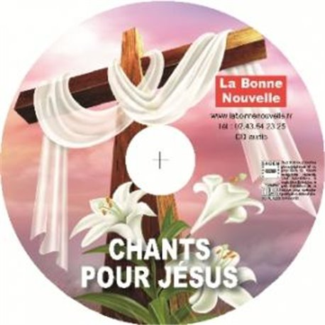 CD audio: Chants pour Jésus