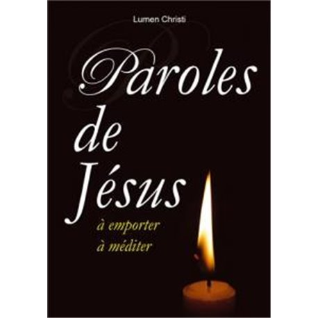 Paroles de Jésus