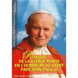 Rosaire de la Vierge Marie en l'honneur du saint pape Jean-Paul II Gisèle BOMAL