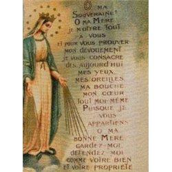 Tapisserie Consécration à Dieu par Marie