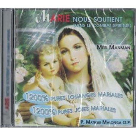Marie nous soutient dans la combat spirituel