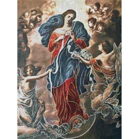 Tapisserie : Notre Dame qui défait les noeuds