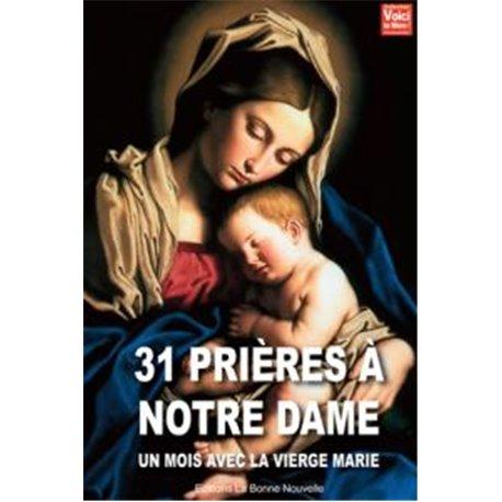 Livret 31 prières à Notre Dame