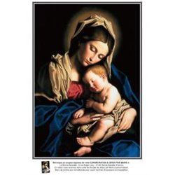 Grande Image: A Jésus par Marie