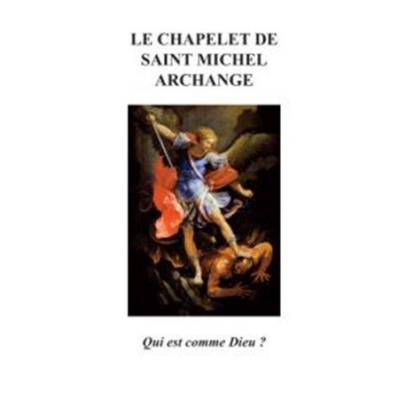 """Feuillet """"Prier le chapelet de saint Michel Archange"""""""