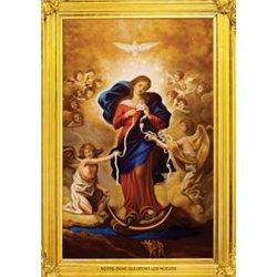 Grande image de Notre Dame qui défait les noeuds