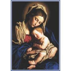 La carte prière Maman Marie