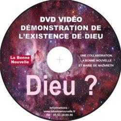 DVD démonstration de l'existence de Dieu