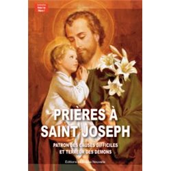 """Livret """"PRIERES A SAINT JOSEPH"""""""