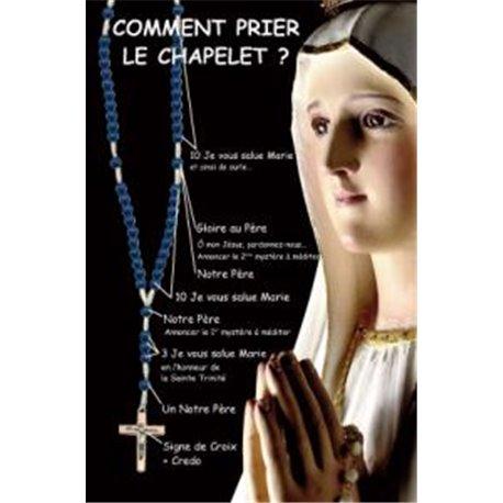 La Carte Prière : Comment prier le chapelet ?