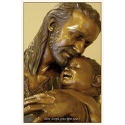Carte-prière à saint Joseph