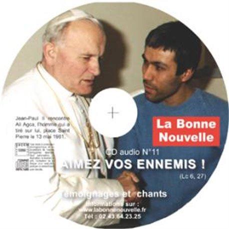 """CD audio """"Aimez vos ennemis !"""" en téléchargement"""