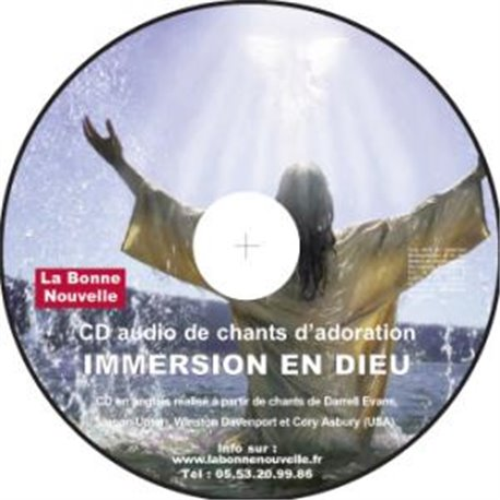 CD audio: IMMERSION EN DIEU en téléchargement