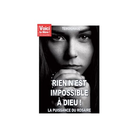 """Revue """"Rien n'est impossible à Dieu"""""""