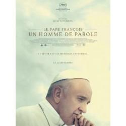 DVD le pape François, un homme de parole