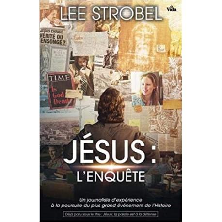 Jésus l'enquête - le livre