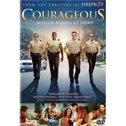 DVD film : COURAGEOUS