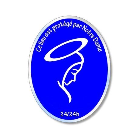 Plaque de protection mariale