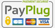 Paiements sécurisés par Payplug